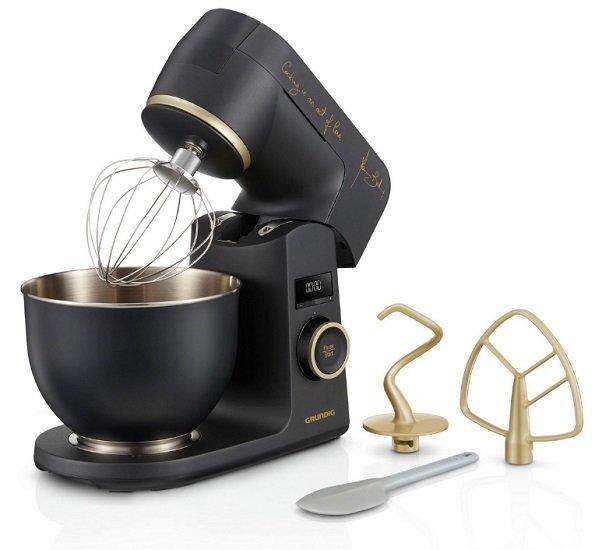 Grundig One Day Sale, z.B. Küchenmaschine KMP 8650 S Mbc für 269,99€ (statt 480€)