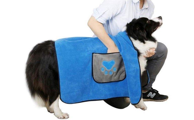 DADYPET Hunde-/Katzenhandtuch (100x70cm) für 14€ (Prime)