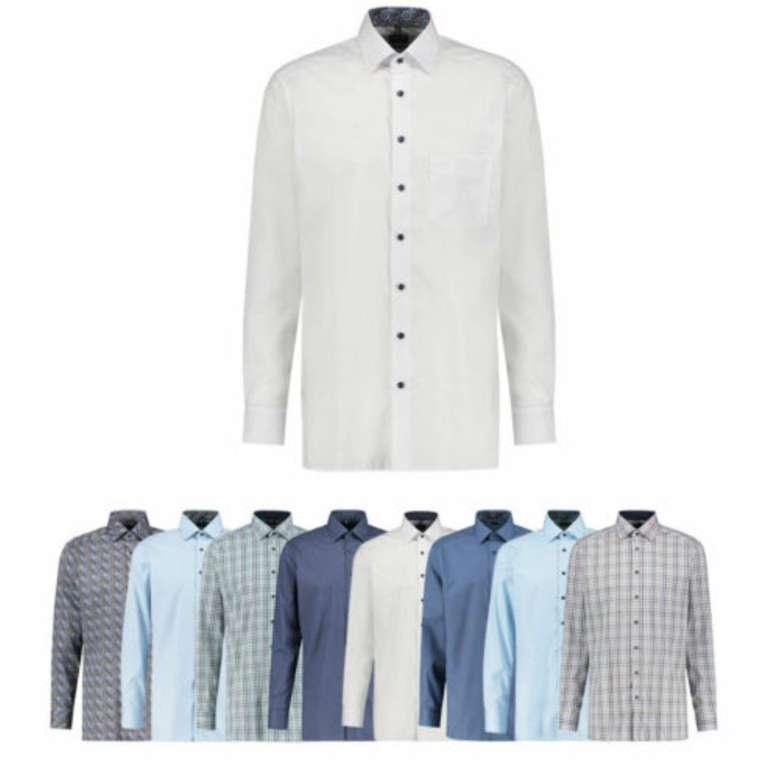 Olymp Langarm Herren Hemden in Modern Fit (versch. Designs und Farben) für je 29,90€