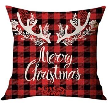 Moilant Kissenbezug - Weihnachten (45×45cm) für 2€ inkl. Prime Versand (statt 10€)