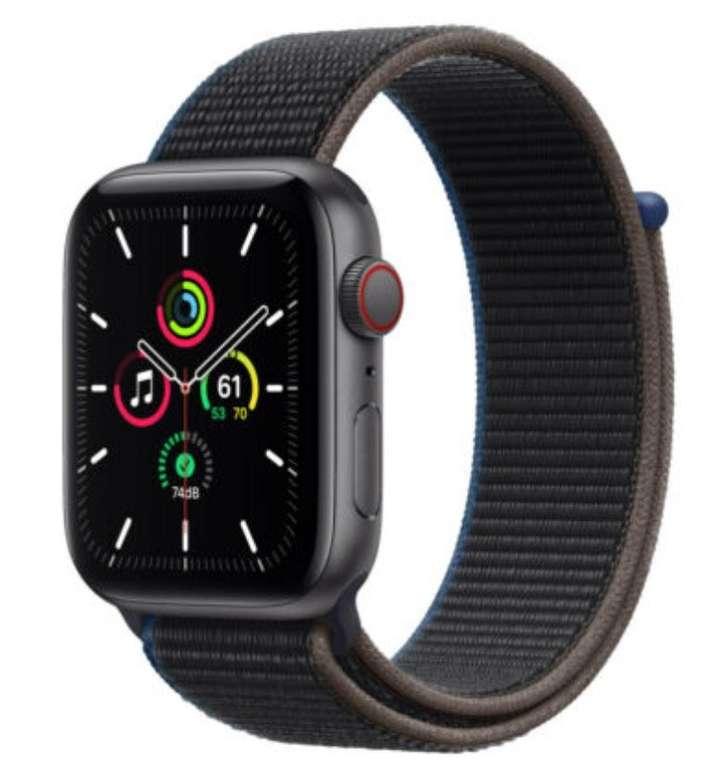 Apple Watch SE (44mm) mit GPS, LTE und Sportloop für 332,46€ inkl. Versand (statt 365€)