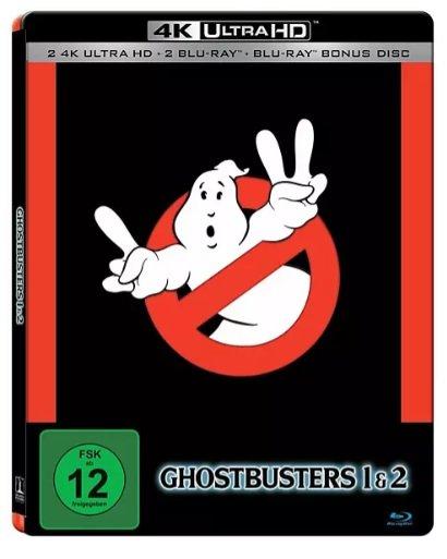Ghostbusters I & II 4K Ultra HD Blu-ray + Blu-ray für 25,98€ inkl. Versand (statt 50€)