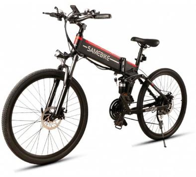Samebike LO26 - Faltbares E-Bike (bis 30 km/h, 10.4Ah, Scheibenbremsen) für 602€