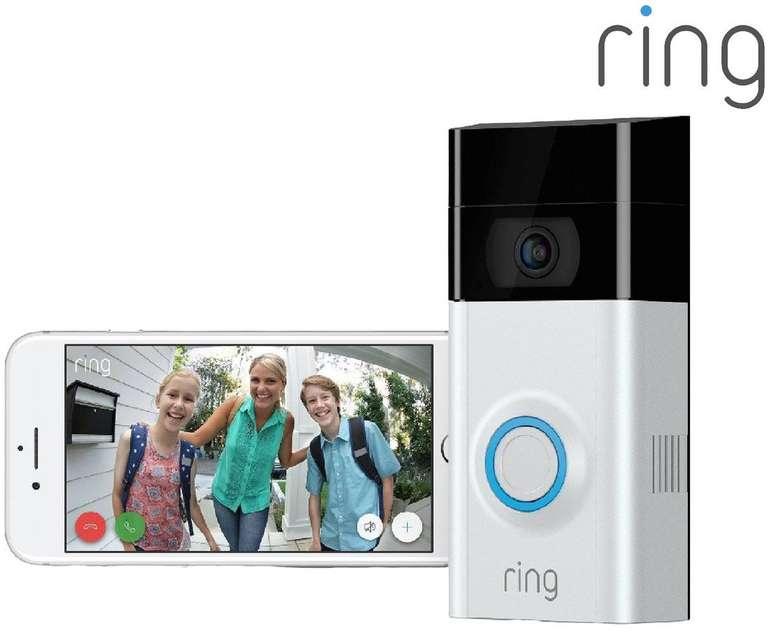 Ring Video Doorbell 2 Türklingel mit Bewegungssensor für 130,90€ inkl. Versand