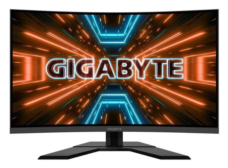 "Gigabyte 31.5"" Gaming Monitor ""G32QC"" (165hz, WQHD, 1ms, Free Sync) für 309,99€ (statt 375€)"