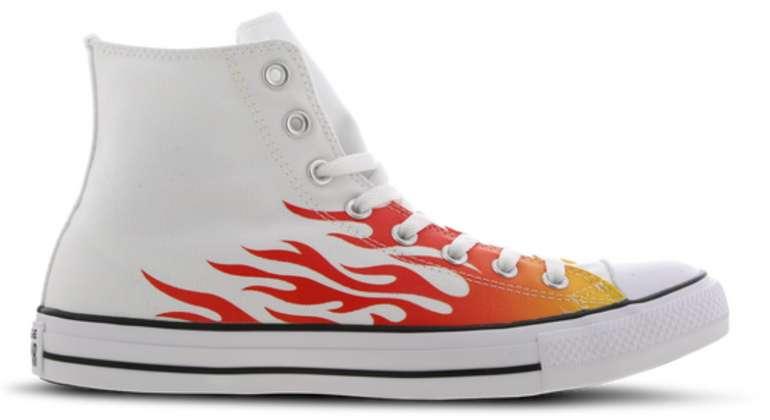 Converse Chuck Taylor All Star Schuhe (Flammen-Design) für 34,99€inkl. Versand (statt 60€)