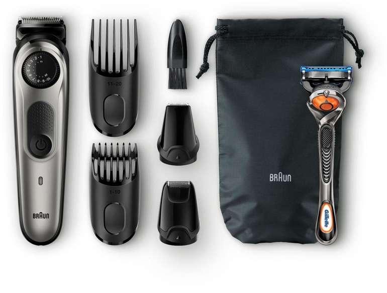 Braun BT7020 im Set (Rasierer, Barttrimmer, Haarschneider etc.) für 44€ inkl. Versand (statt 51€)