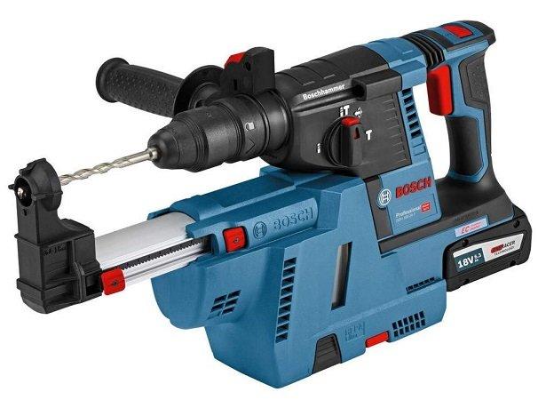 Bosch Akku-Schlagbohrhammer GBH 18V-26 F 2x 6.0Ah Akku+ Absaugung & L-BOXX 398€