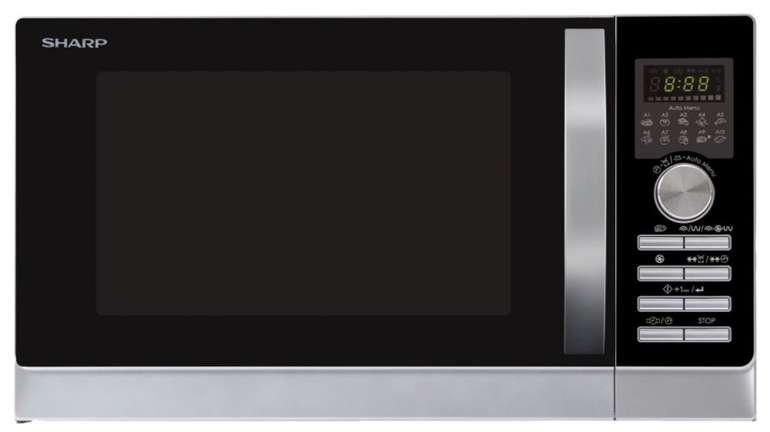 Sharp R843INW Mikrowelle mit Heißluft und Grill (25 Liter, 900 Watt) für 129€ inkl. Versand (statt 148€)