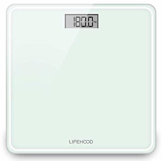Lifehood - Digitale Personenwaage mit Hochpräzisions-Sensoren für 10,99€ (Prime)