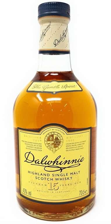 0,7 Liter Dalwhinnie Single Malt Highland Whiskey 15 Jahre mit 43% Vol. für 24,99€ (statt 35€)