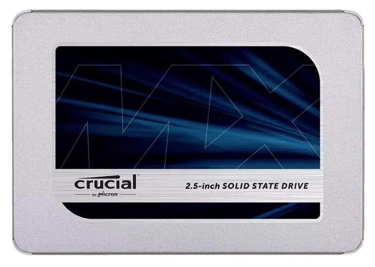 Crucial MX500 - Interne SSD mit 250GB Speicher für 29,89€ inkl. Versand (statt 36€)