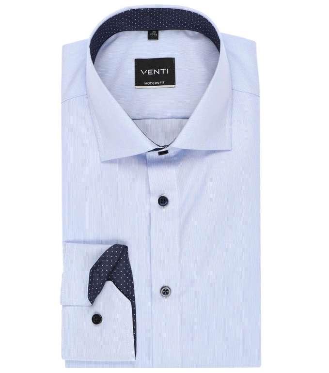 17% Rabatt auf alles bei Hemden.de (auch Sale) - z.B. Venti Modern Fit Hemd in blau-weiß für 17,38€ (statt 30€)