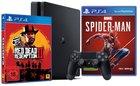 PS4 Slim 1TB + Red Dead Redemption 2 + Spider-Man für 349€ + 20€ Coupon