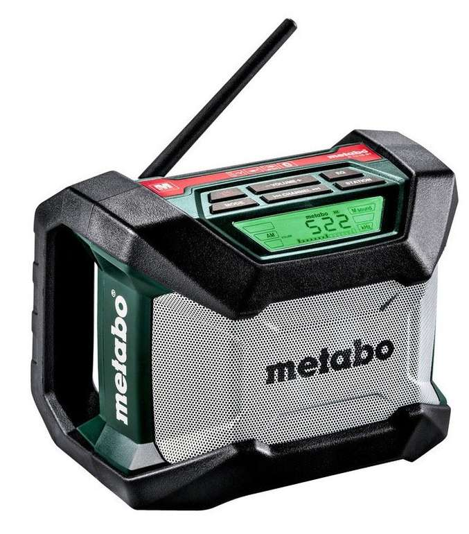Metabo Akku-Baustellenradio R 12-18 (ohne Akku) für 44,99€ (statt 50€)