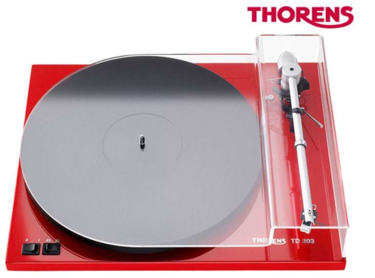 Thorens TD 203 Plattenspieler für 378,90€ inkl. Versand (statt 562€)
