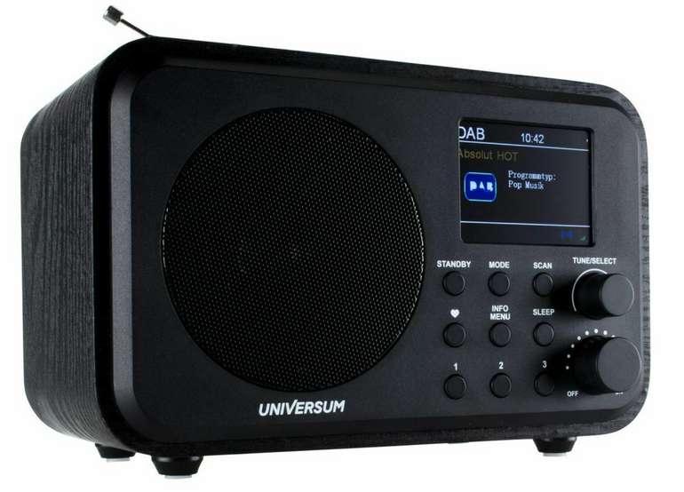 Universum DR 300-20 DAB Digitalradio mit Bluetooth und Akku für 39,99€inkl. Versand (statt 46€)