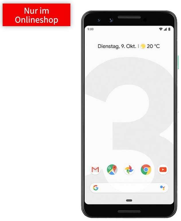 Google Pixel 3 (49€) + Telekom green LTE (D1-Netz, All-Net Flat, 6GB LTE) für 16,99€ mtl.