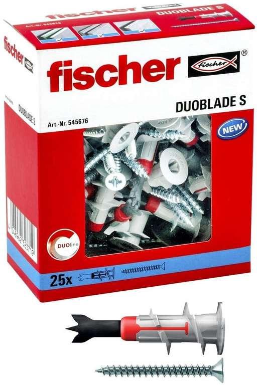 Fischer 545676 Gipskartondübel 25 Stk. für 7,17€ inkl. Prime Versand (statt 13€)