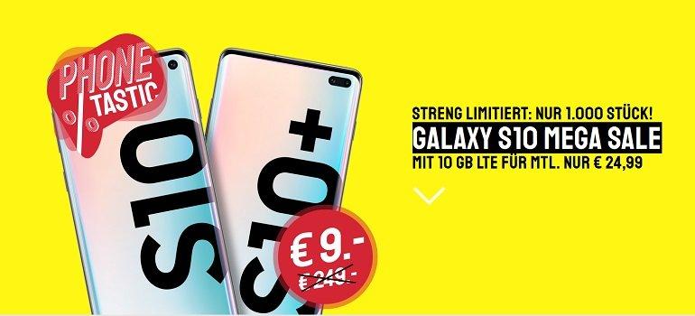 Samsung Galaxy S10 Otelo Vodafone Allnet-Flat 20GB LTE