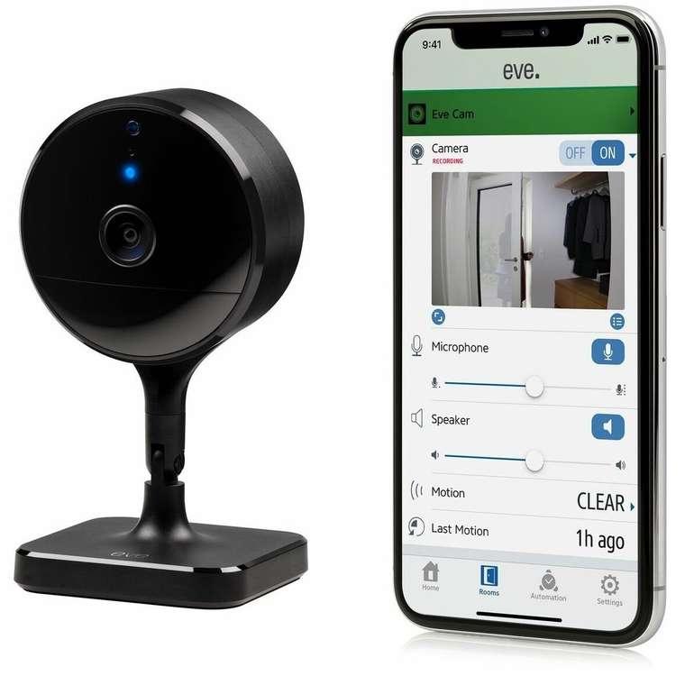 Eve Cam - Smarte Innenkamera mit Apple HomeKit für 99,90€ inkl. Versand (statt 136€)