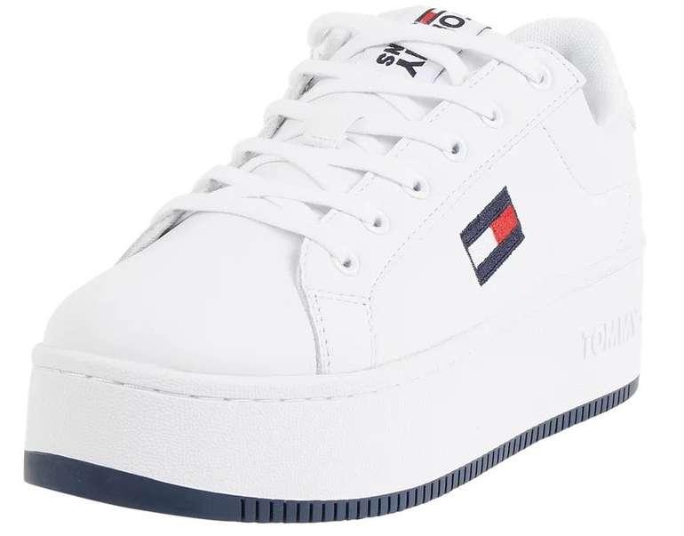 Tommy Jeans Iconic Flatform - Damen Plateau-Sneaker aus Leder für 84,99€ inkl. Versand (statt 95€)