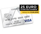 Commerzbank Prepaid Kreditkarte + 25€ Startguthaben (nur im 1. Jahr kostenlos)
