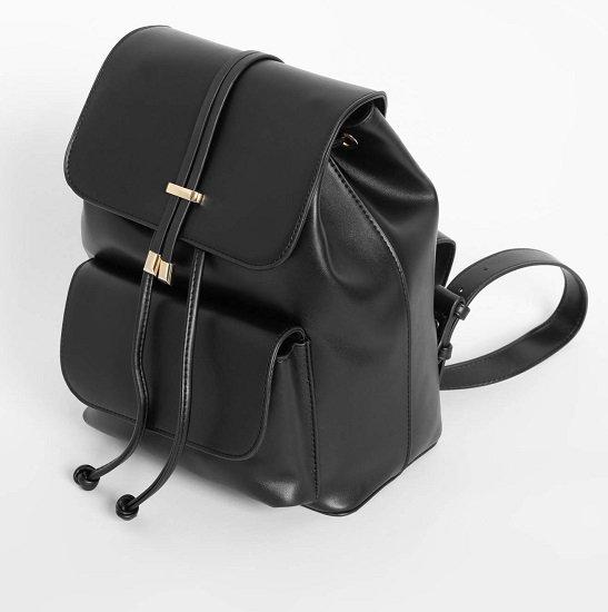Top! Orsay: 30% Rabatt auf schwarze Artikel, z.B. Rucksack für 11,90€ (statt 25€)