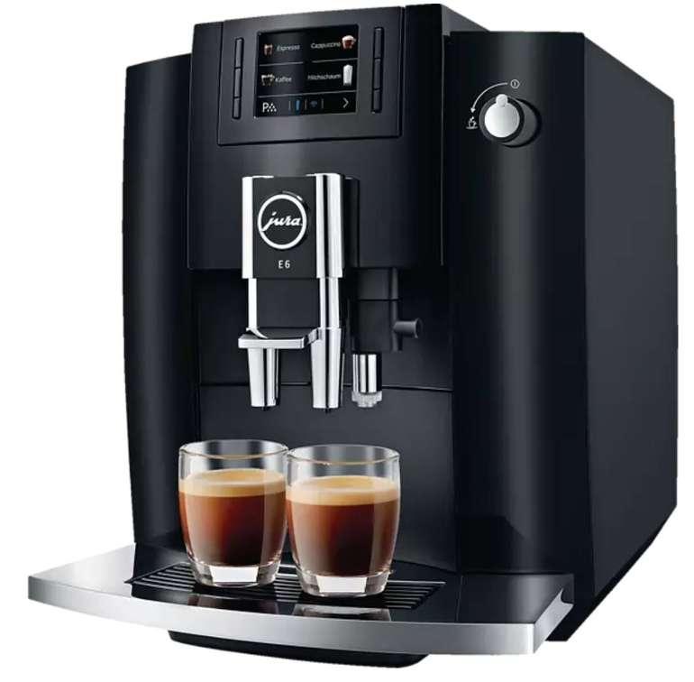 Media Markt Jetzt oder Nie Deals - z.B. Jura E6 Kaffeevollautomat (Modell 2019) für 607€ (statt 700€)
