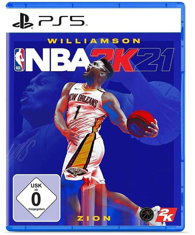 NBA 2K21 (Playstation 5) für 15,29€ inkl. Versand (statt 30€)