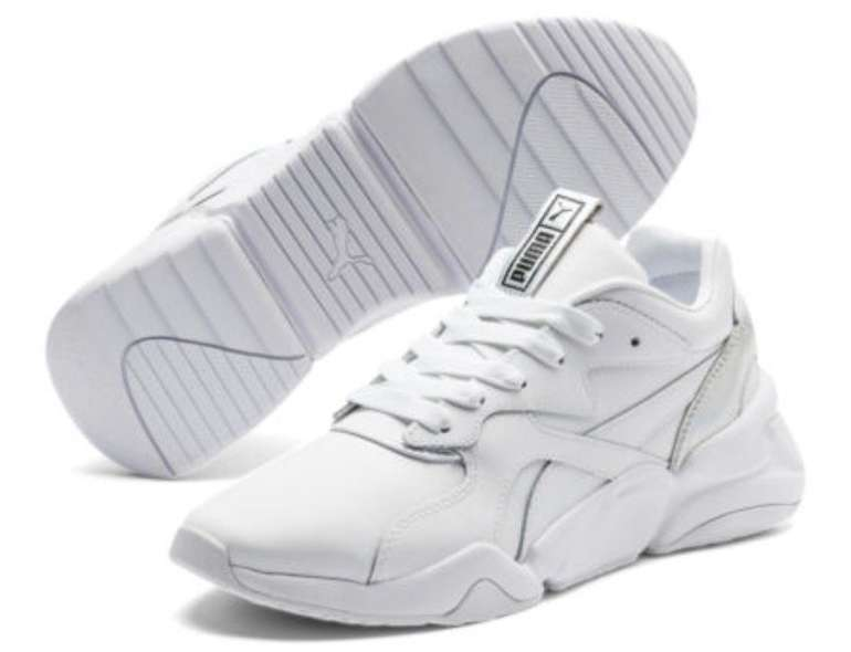 Puma Nova Iridescent Damen Sneaker in weiss für  46,74€ inkl. Versand (statt 59€)