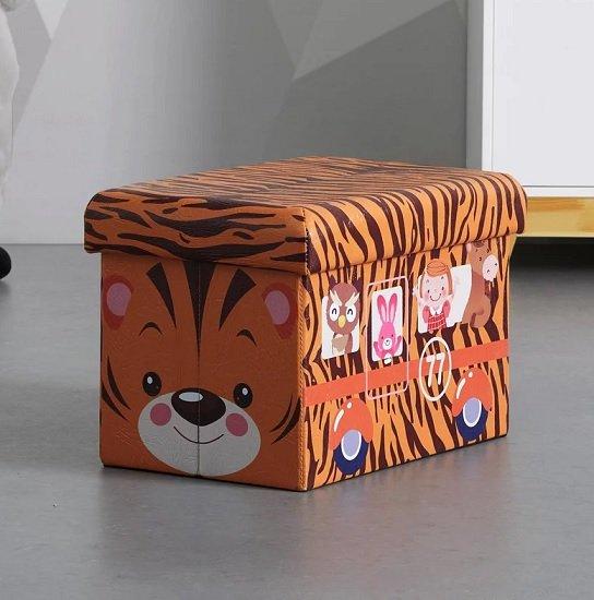 Bessagi Kids Sitzboxen (Bus, Tiger oder Kuh) für je nur 9,90€ zzgl. Versand