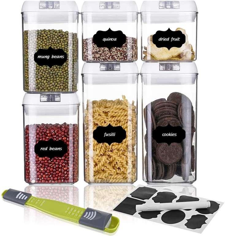 Sawake Vorratsdosen Set (inkl. Deckel & Aufkleber) für 18,89€ inkl. Prime Versand (statt 27€)