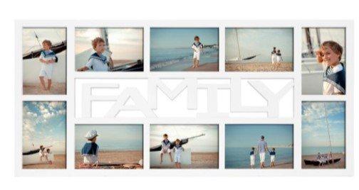 """Toom Sale: 40% Rabatt auf ausgewählte Artikel z.B. Collagerahmen """"Family"""" in weiß (68x32cm) für 8,99€ (statt 15€)"""