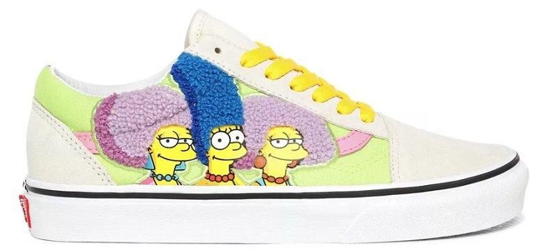 The Simpsons x Vans The Bouviers Old Skool Sneaker für 40,50€ inkl. Versand (statt 51€)