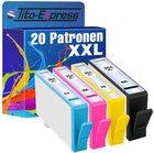 XXL Patronensets - 20 Patronen für HP, Brother, Epson und Canon nur 17,17€