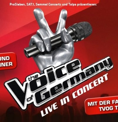 """Aschaffenburg: """"The Voice of Germany"""" Live in Concert am 27.12. ab 29€"""
