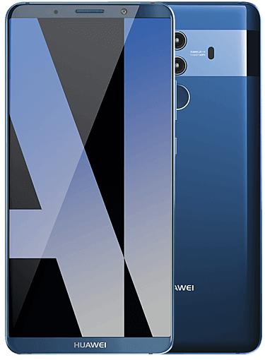 "Huawei Mate 10 Pro 6"" Smartphone blau (128GB, 6GB RAM) für 369€ (statt 465€)"