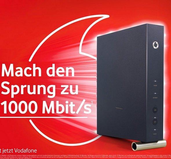 Vodafone Red Internet & Phone CableMax Gigabit für effektiv 29,99€ mtl. durch 240€ Gutschrift