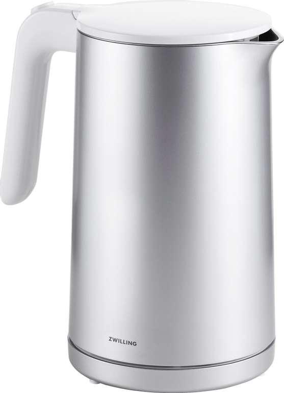Zwilling Enfinigy Wasserkocher 1,5L (1850 W, mit Abschaltautomatik) + Topfuntersetzer je 54,95€ (statt 70€)