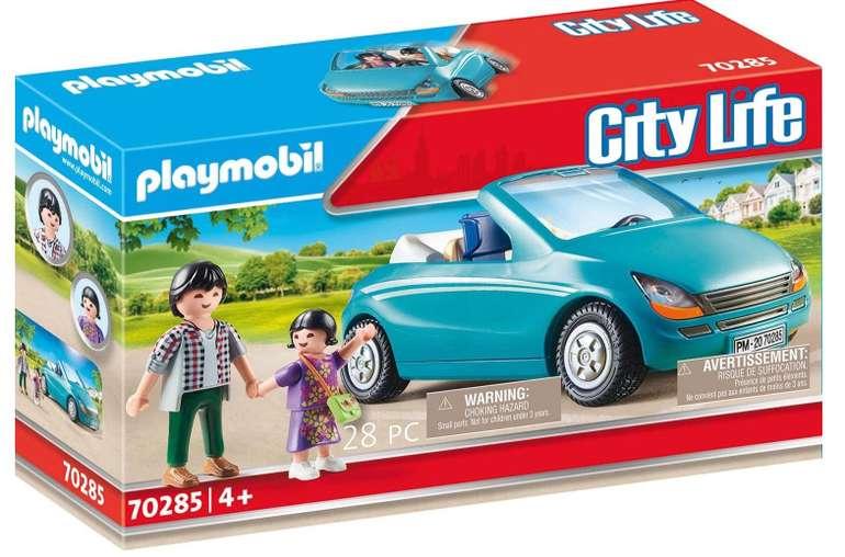 Playmobil City Life - Papa und Kind mit Cabrio (70285) für 9,99€ (statt 14€) - Prime!