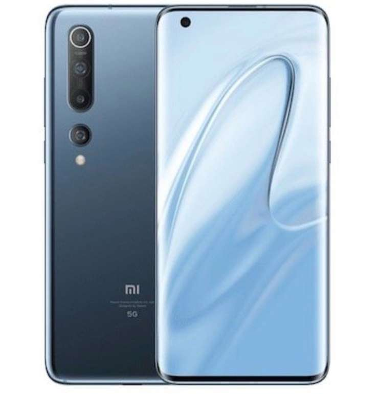 """Xiaomi Mi 10 - 6,67"""" Smartphone (256GB Speicher, 8GB RAM, NFC, Android 10) für 755,99€ (statt 899€)"""
