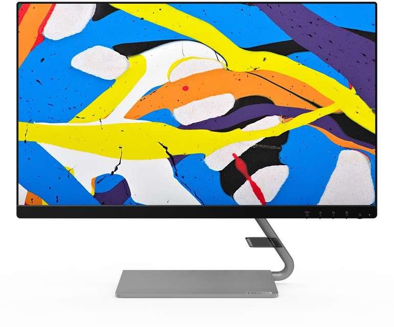 Lenovo Q24i-10 - 23,8 Zoll FHD IPS Monitor für 116€ (statt 140€)