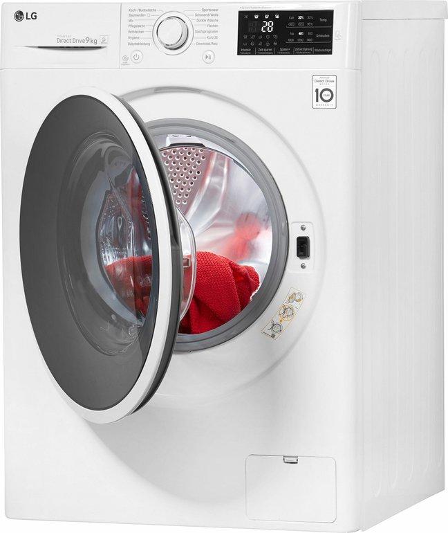 LG F14WM9EN0 Waschmaschine (9 kg, A+++) für 284€ inkl. Versand (statt 399€)