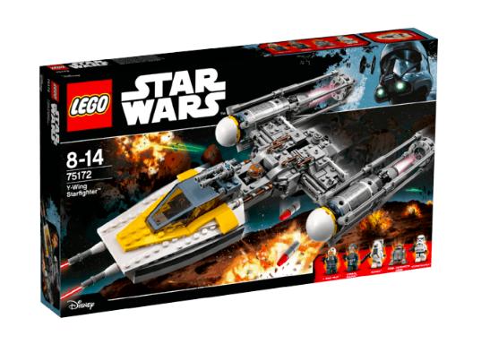 LEGO Star Wars 75172 Y-Wing Starfighter für 35€ inkl. Versand (statt 51€)