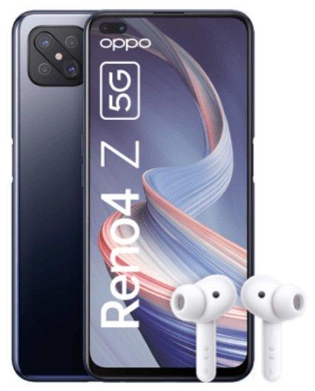 Oppo Reno 4Z 5G + Enco W51 Kopfhörer (+1€) inkl. o2 Allnet-Flat mit 7GB LTE für 17,99€ mtl.