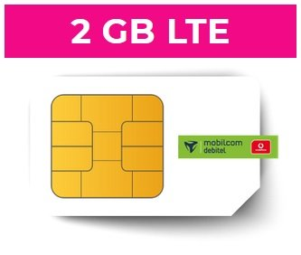 Vodafone Smart Surf (2GB LTE, 50 min & SMS) + Freenet Video & Hotspot Flat für 4,99€ mtl.