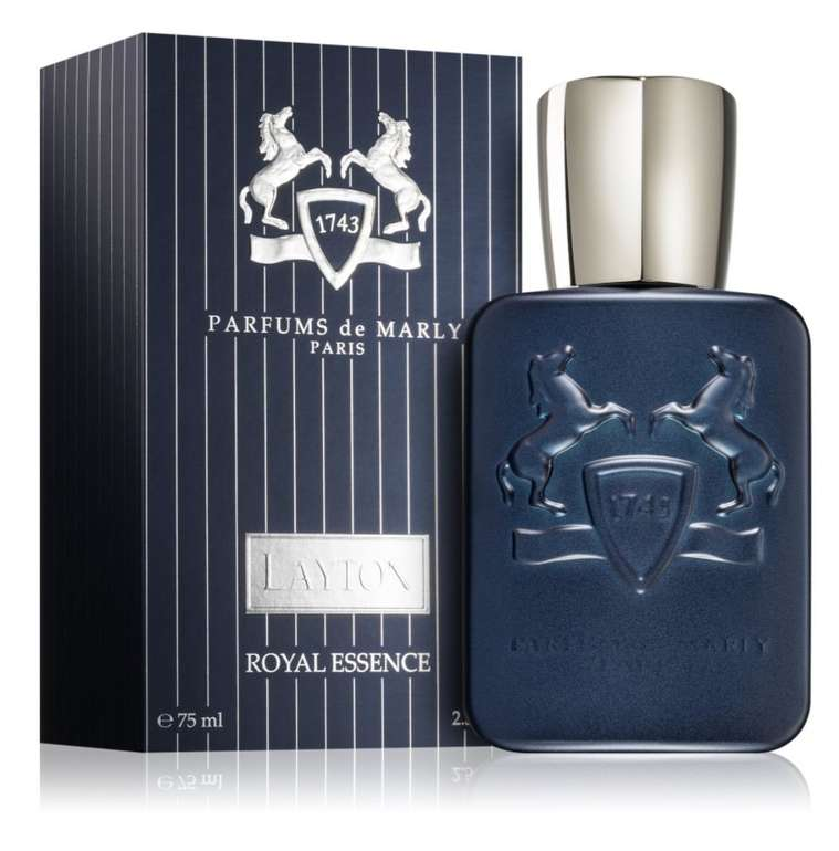 75ml Parfums De Marly Layton Royal Essence Unisex Eau de Parfum für 135,66€ (statt 160€)