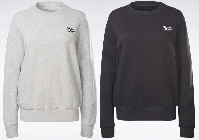 Reebok Identitiy French Terry Crew Sweatshirt in zwei Farben für je 27,49€ inkl. Versand (statt 48€)