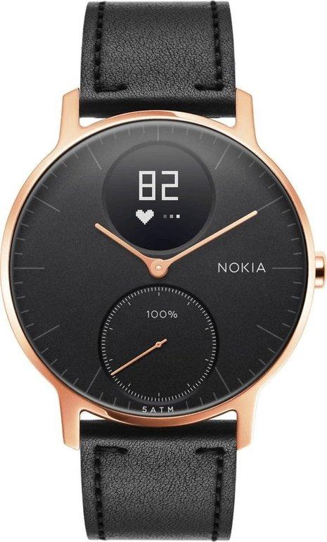 Withings Steel HR Hybrid 36mm Smartwatch mit Leder-Armband für 169€ inkl. VSK